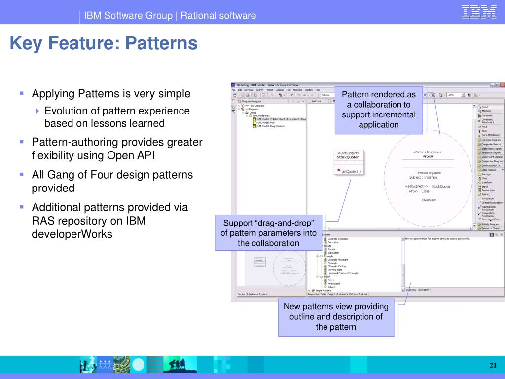 Key Feature: Patterns