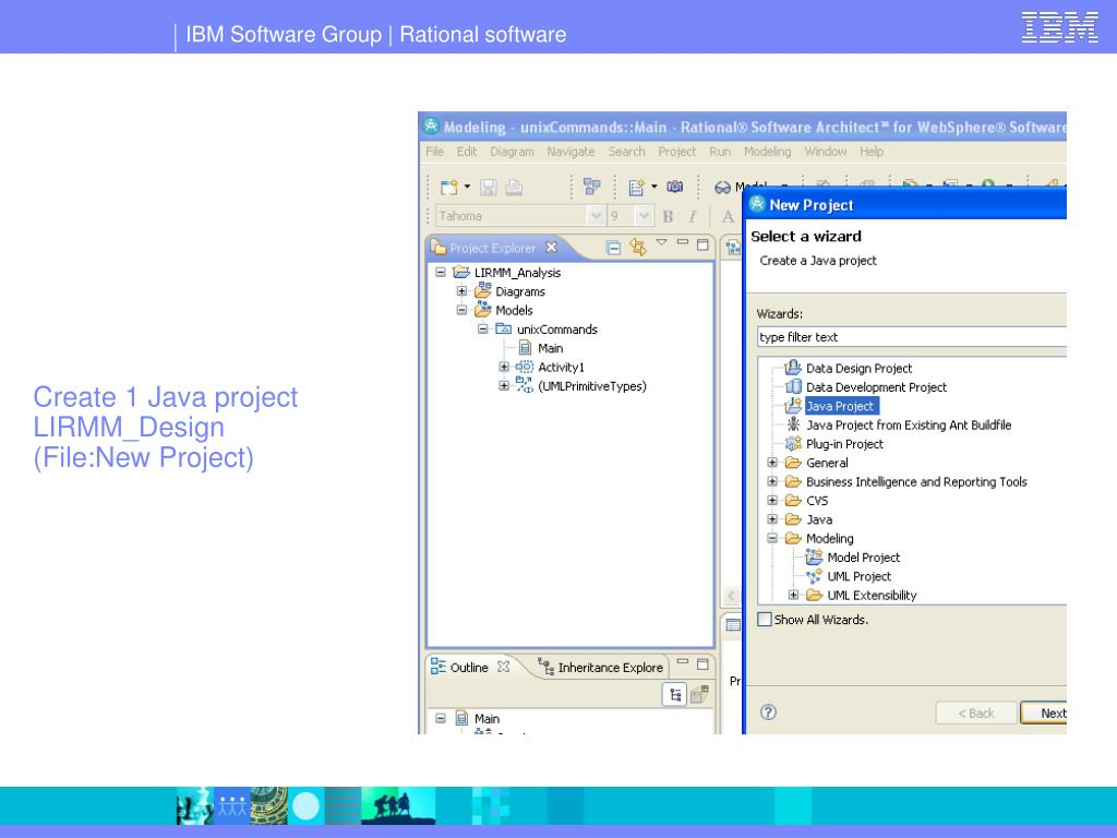 Create 1 Java project