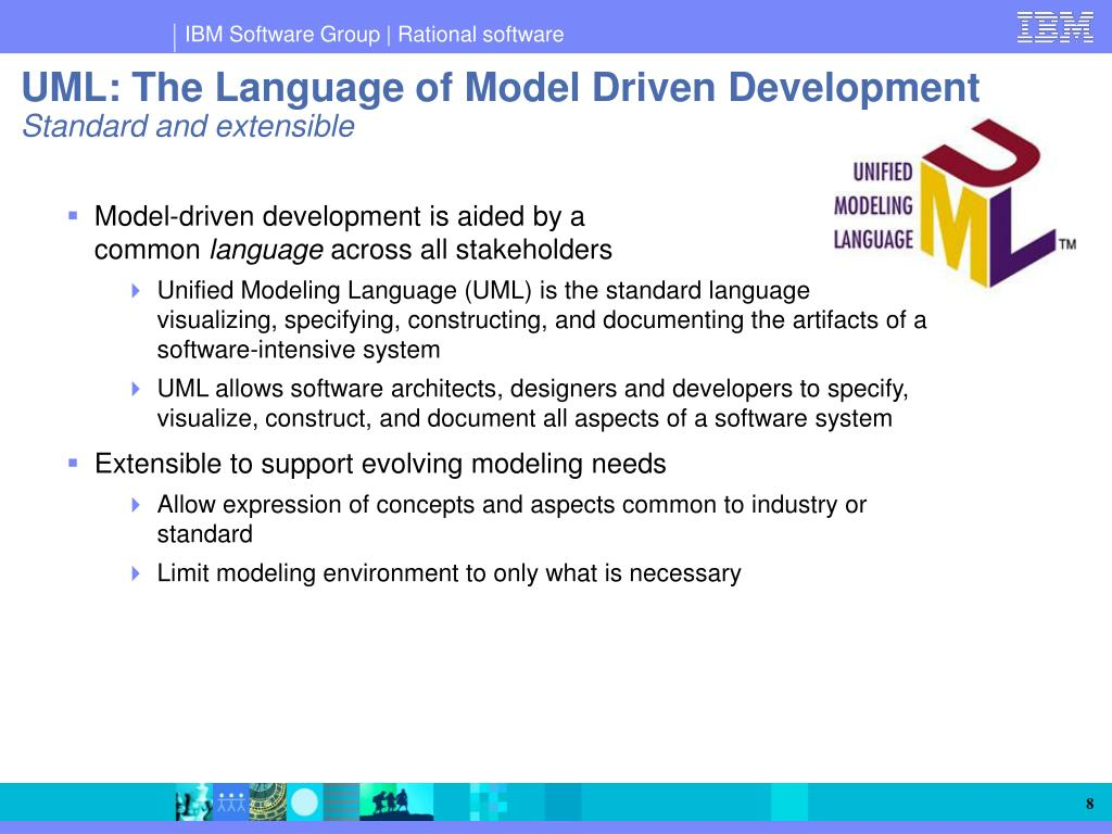 Model-driven development is aided by a