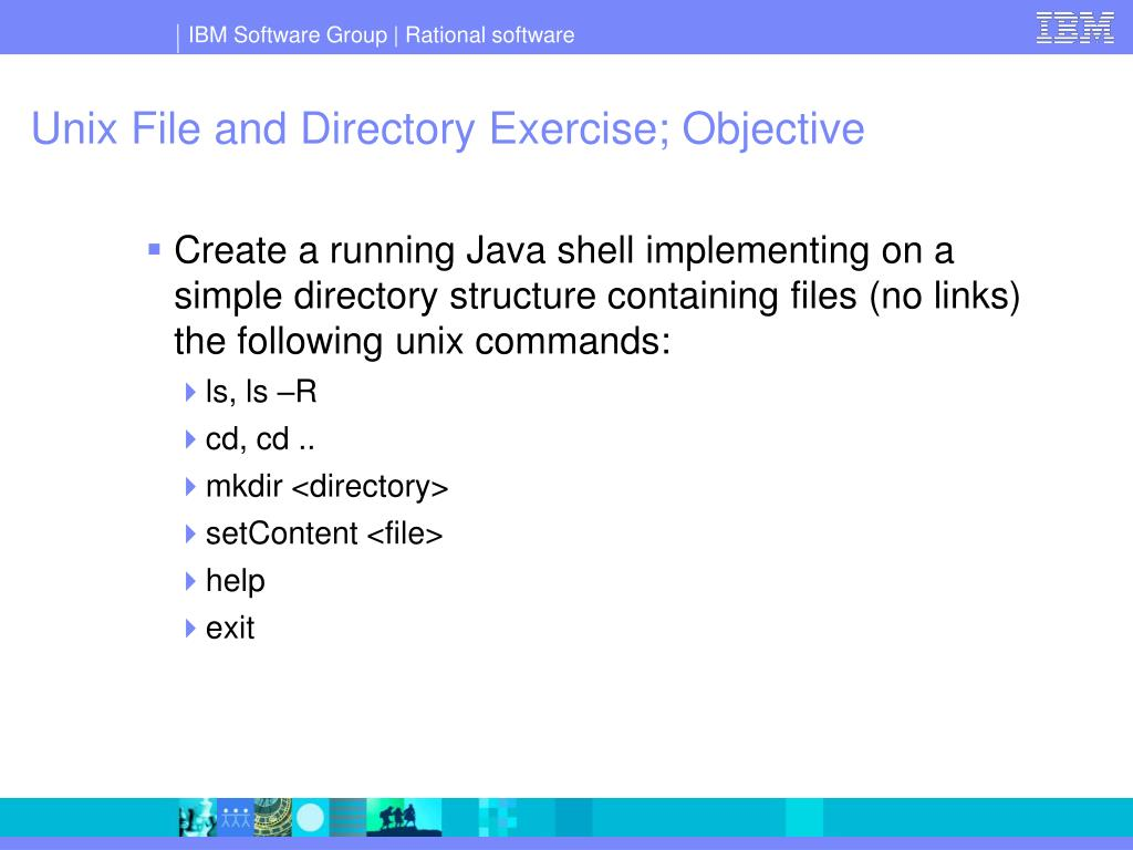 Unix File and Directory Exercise; Objective