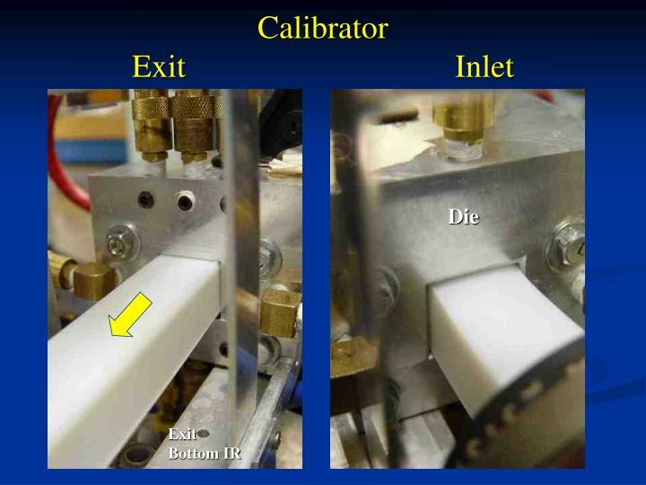 Calibrator