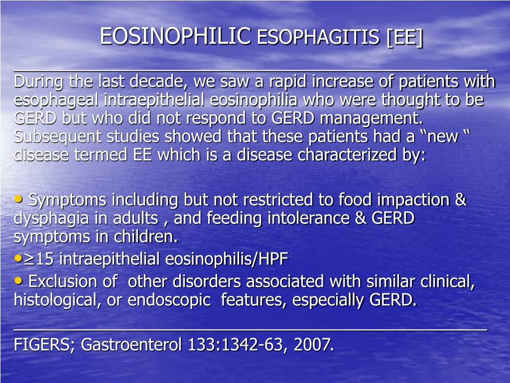 EOSINOPHILIC