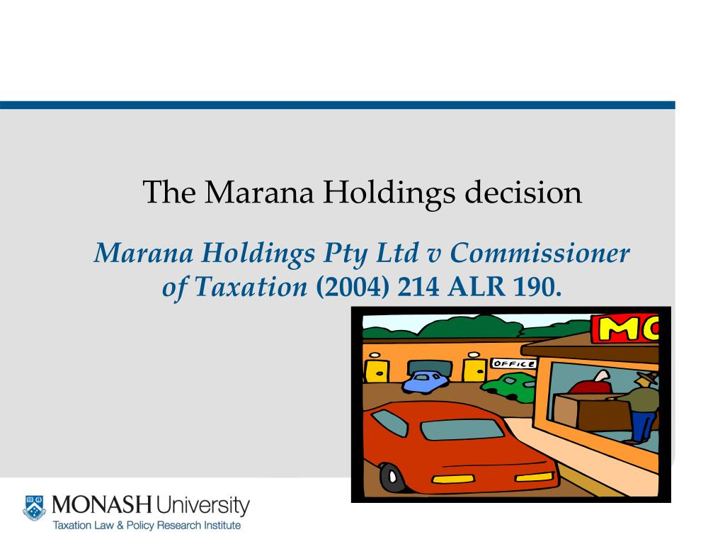 The Marana Holdings decision