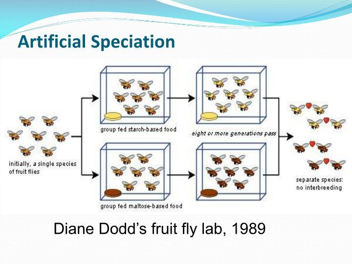 Artificial Speciation