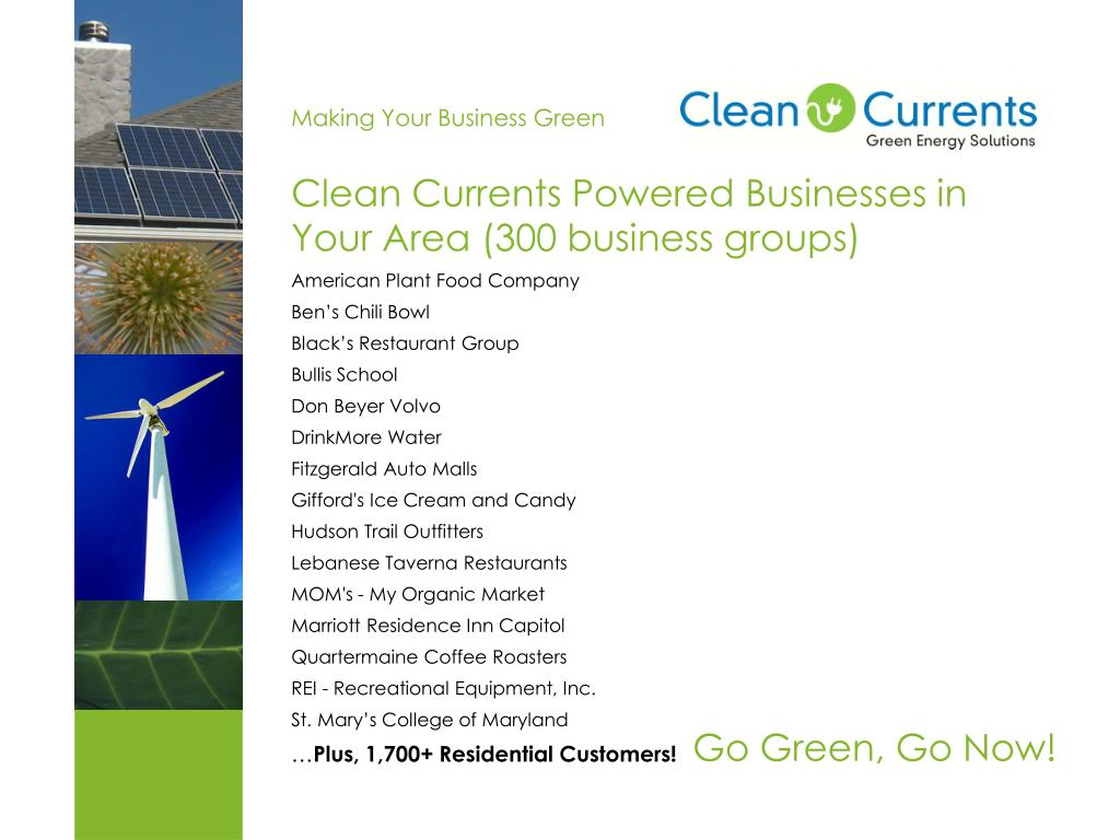 Making Your Business Green