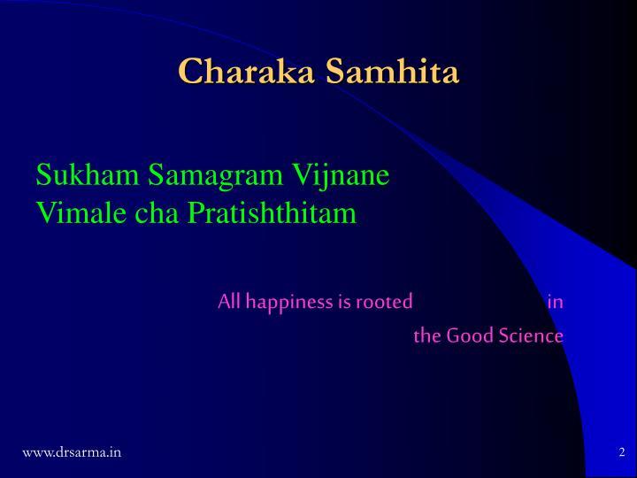 Charaka Samhita