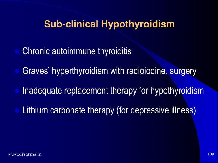 Chronic autoimmune thyroiditis