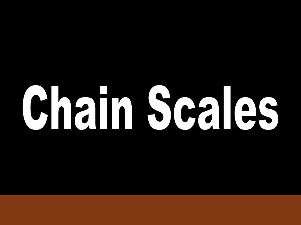 Chain Scales
