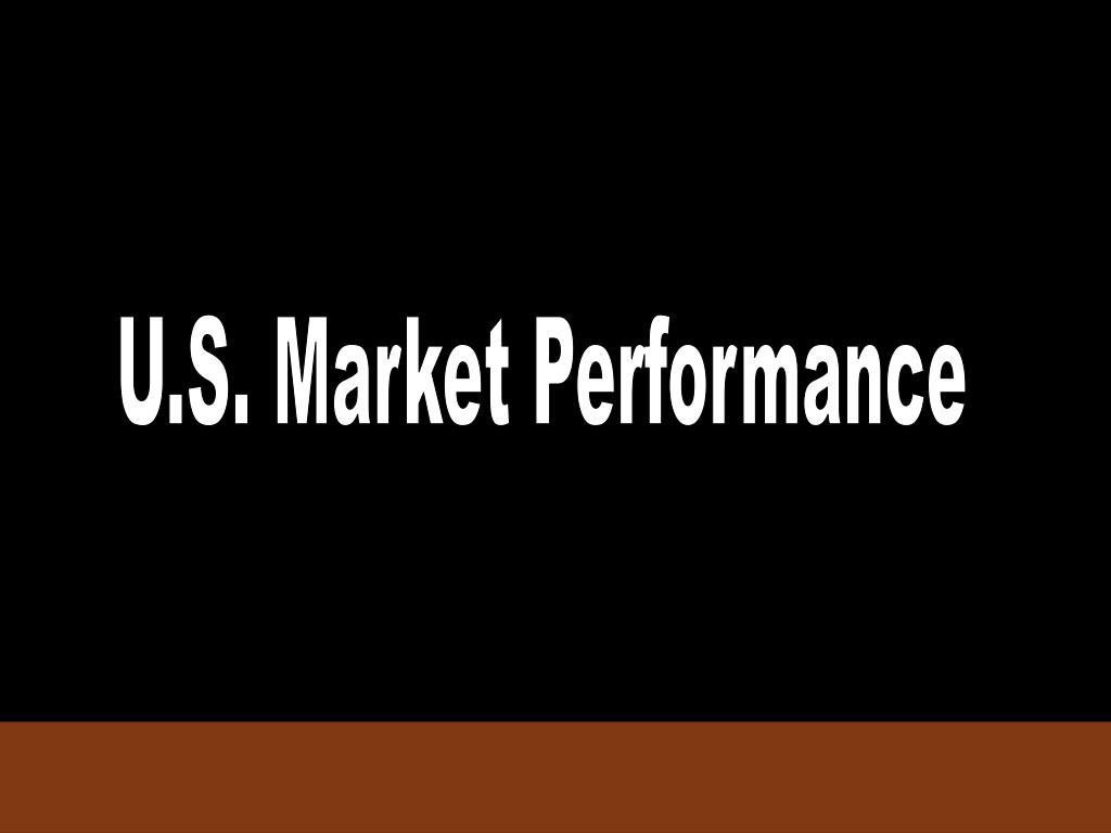 U.S. Market Performance