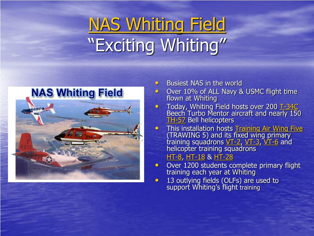 NAS Whiting Field
