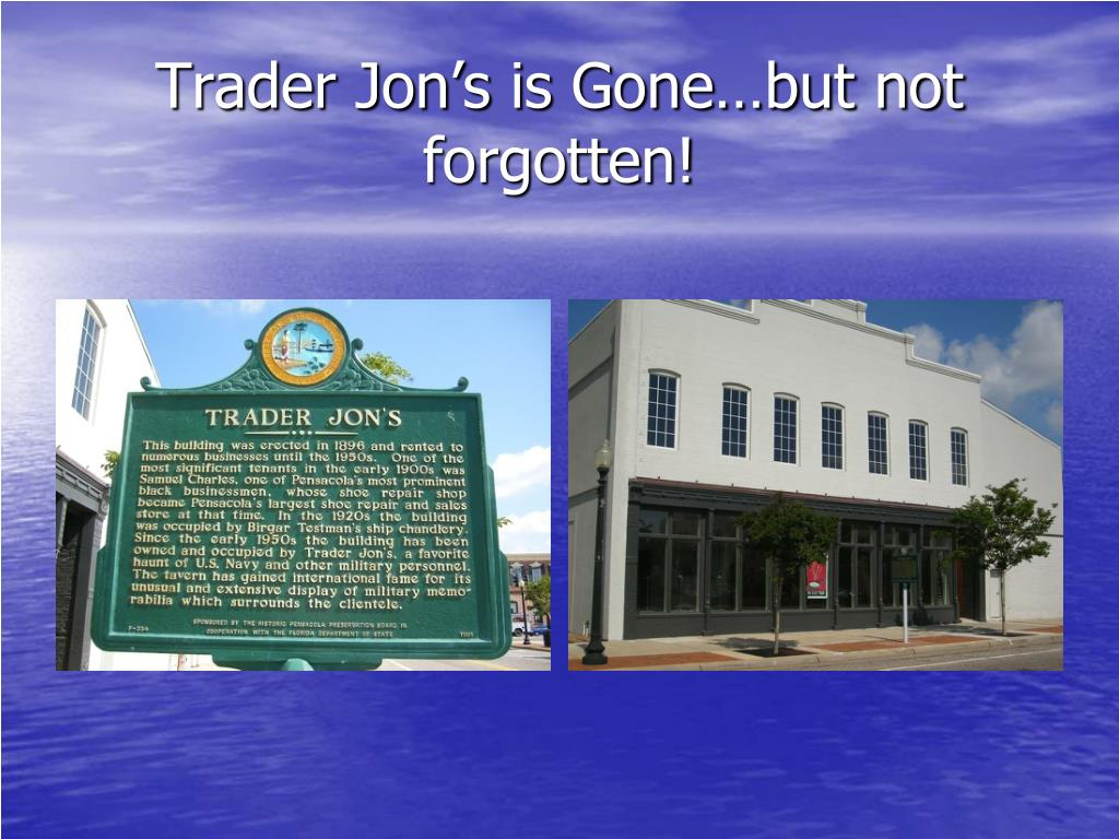 Trader Jon's is Gone…but not forgotten!