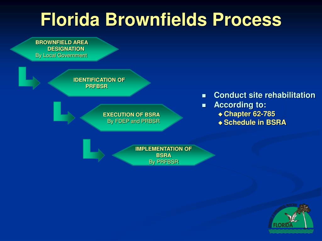 Florida Brownfields Process