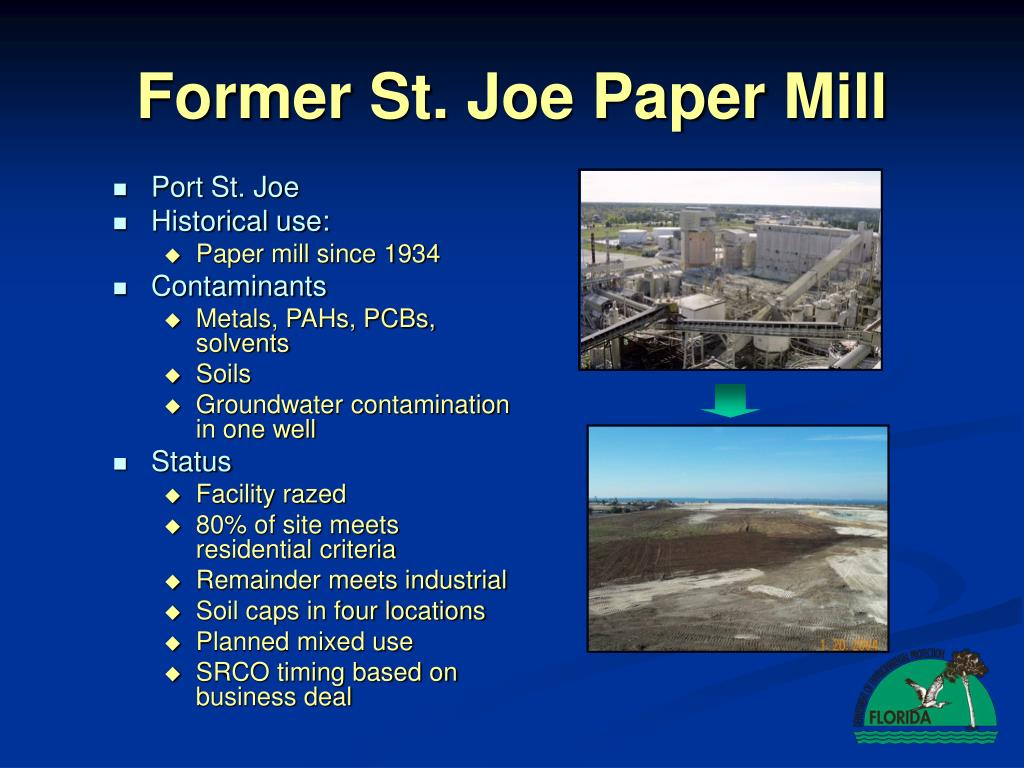 Former St. Joe Paper Mill
