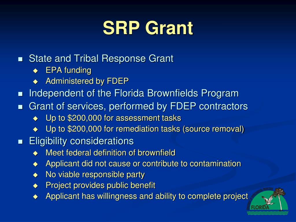 SRP Grant