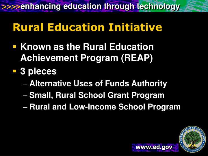 Rural Education Initiative