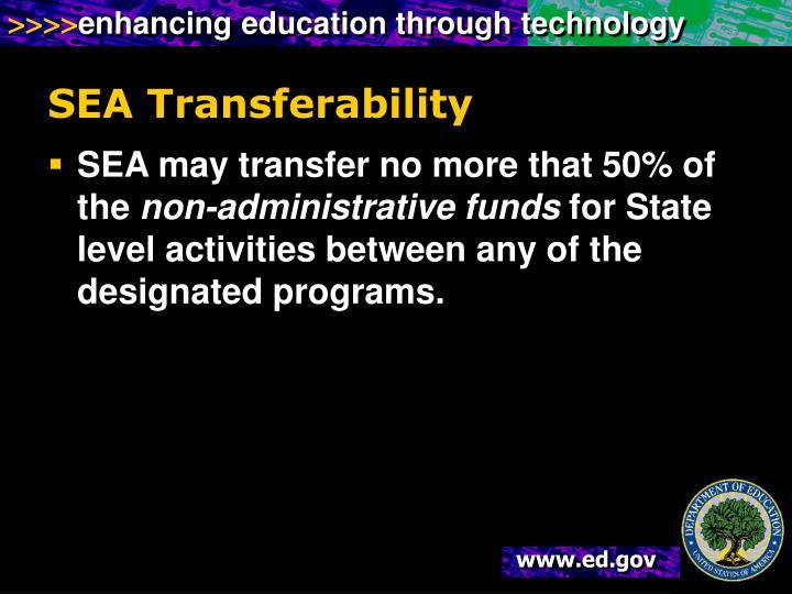 SEA Transferability