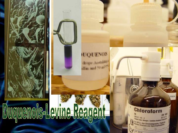 Duquenois-Levine Reagent