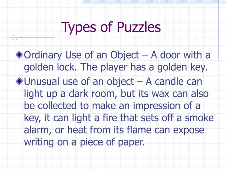 Types of puzzles l.jpg