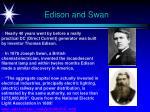 edison and swan