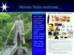 nichola tesla continued