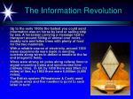 the information revolution25