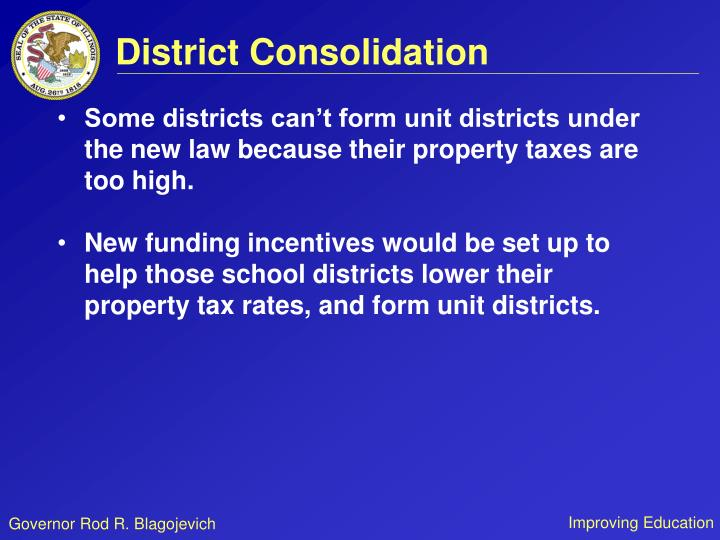 District Consolidation