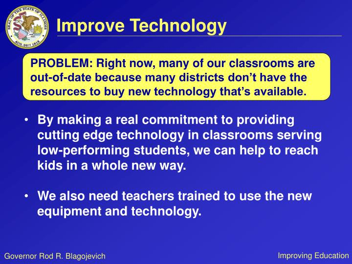 Improve Technology