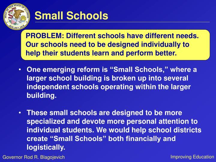 Small Schools