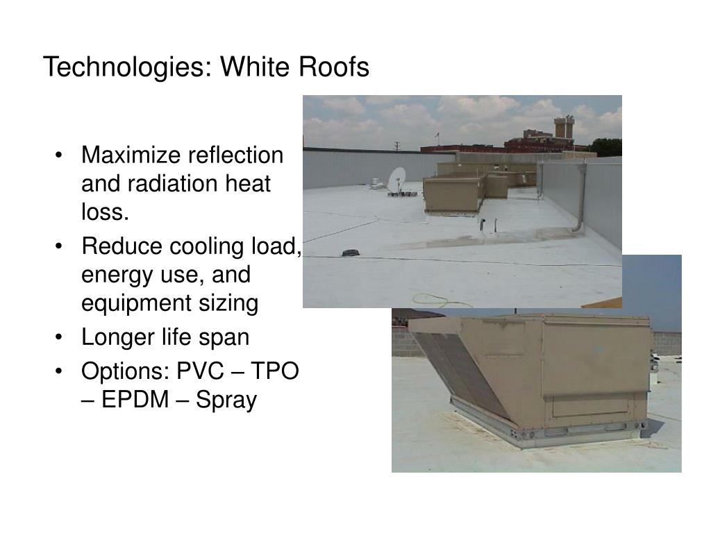 Technologies: White Roofs