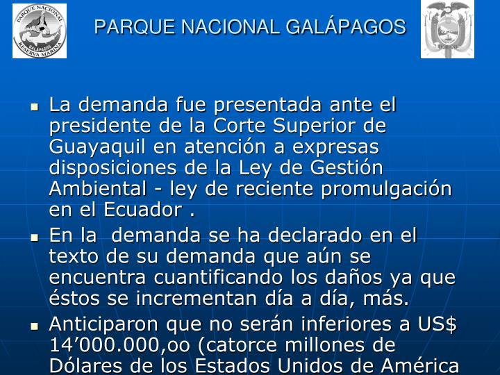 PARQUE NACIONAL GALPAGOS