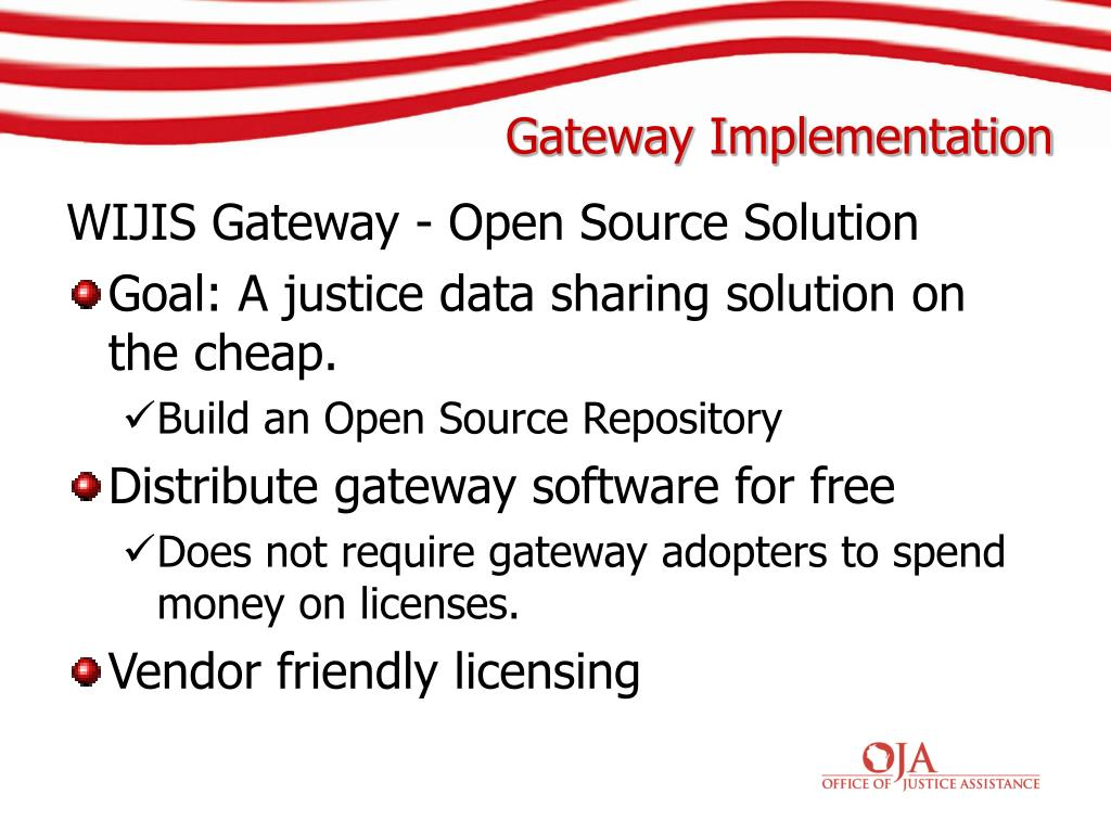 WIJIS Gateway - Open Source Solution