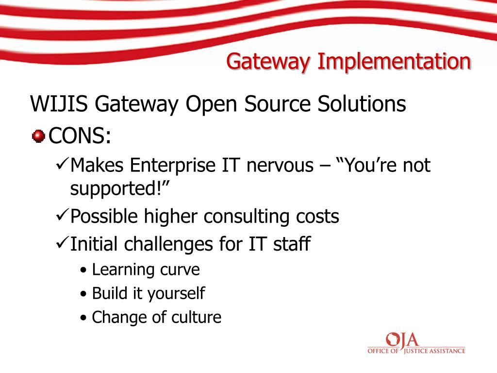WIJIS Gateway Open Source Solutions