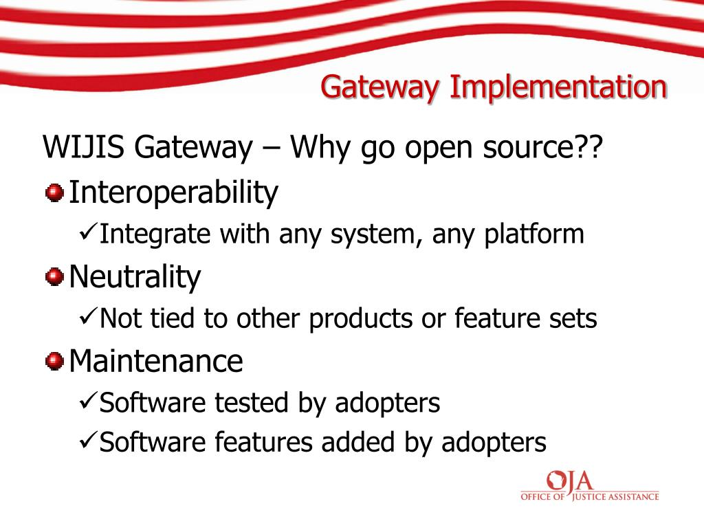 WIJIS Gateway – Why go open source??