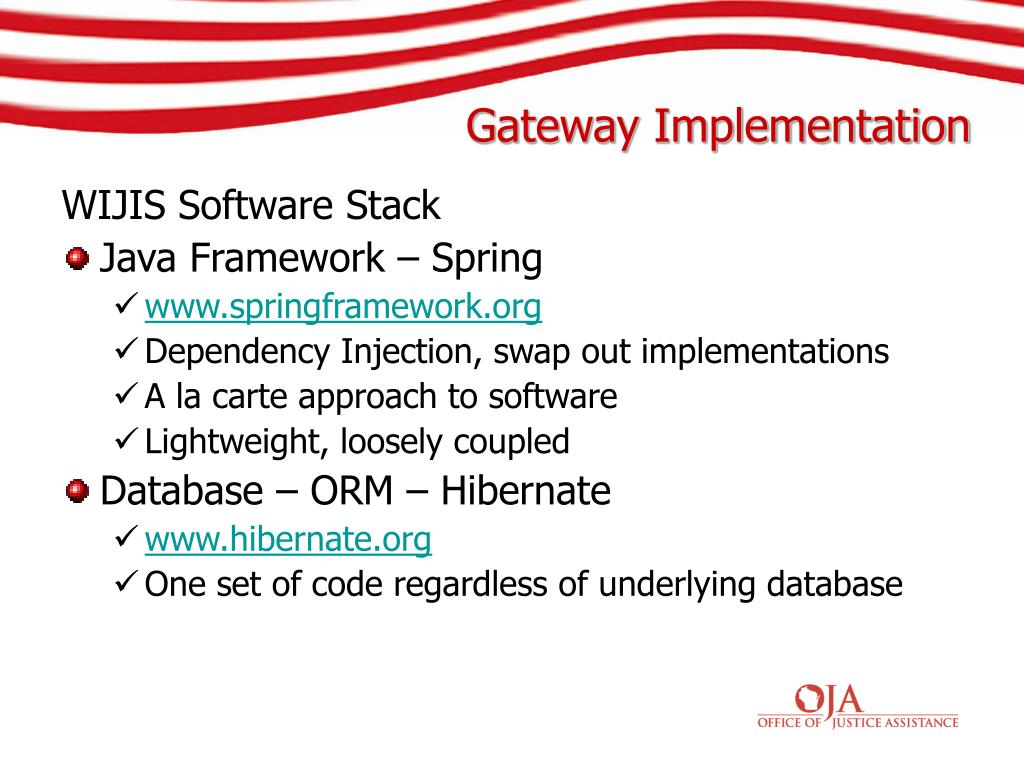 WIJIS Software Stack