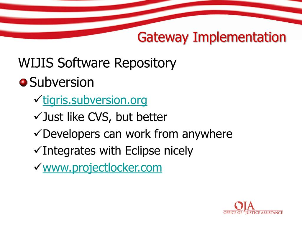 WIJIS Software Repository