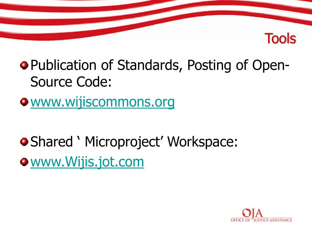 Publication of Standards, Posting of Open-Source Code: