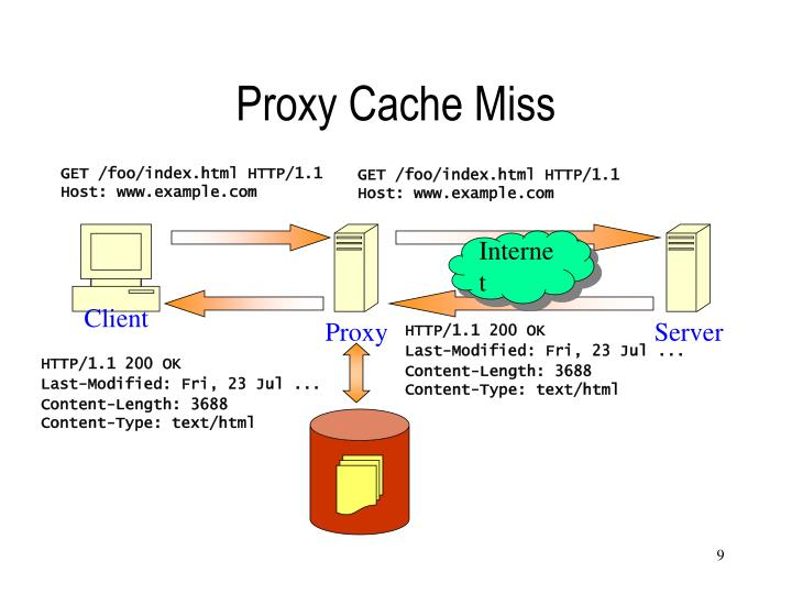 Proxy Cache Miss