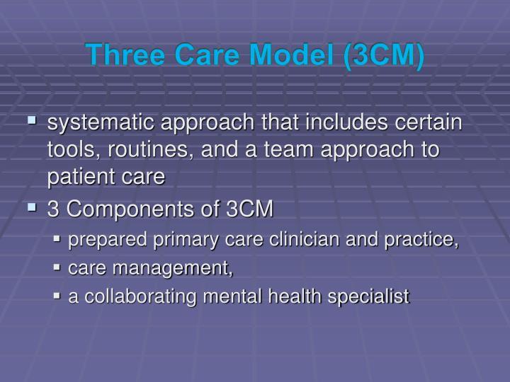 Three Care Model (3CM)