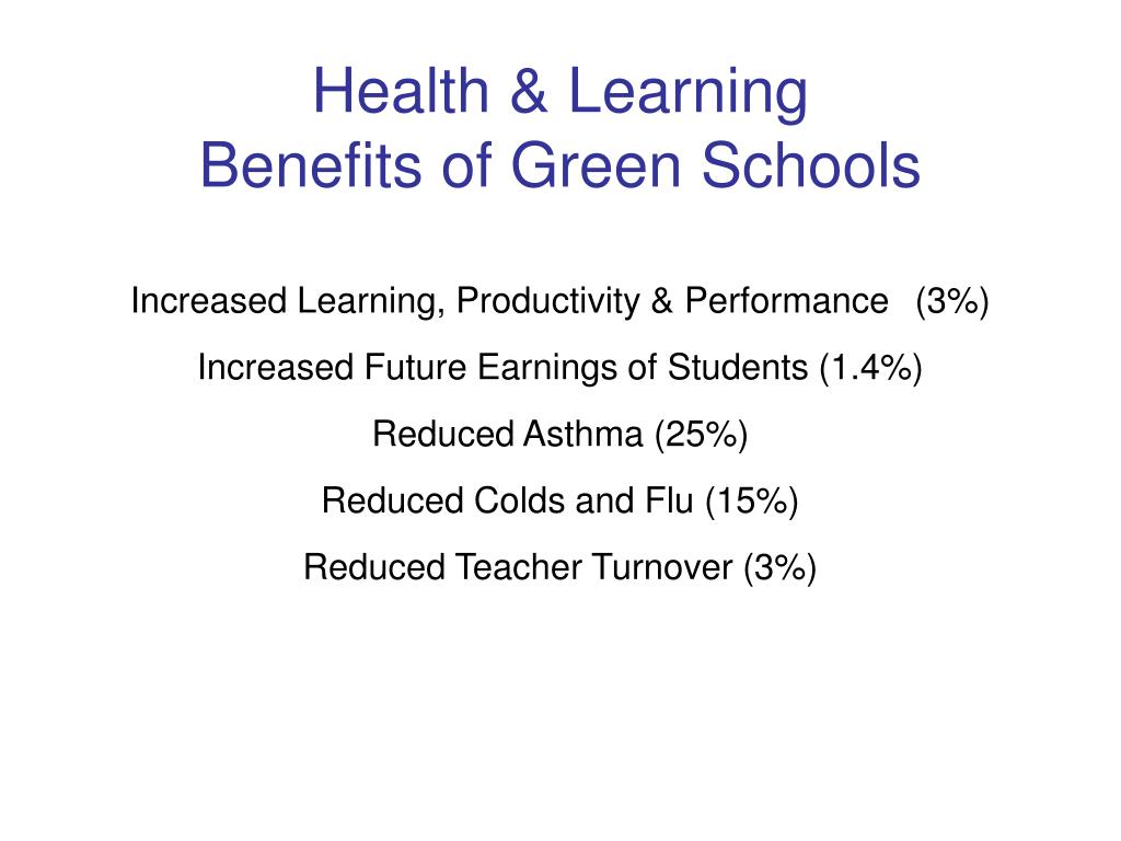 Health & Learning