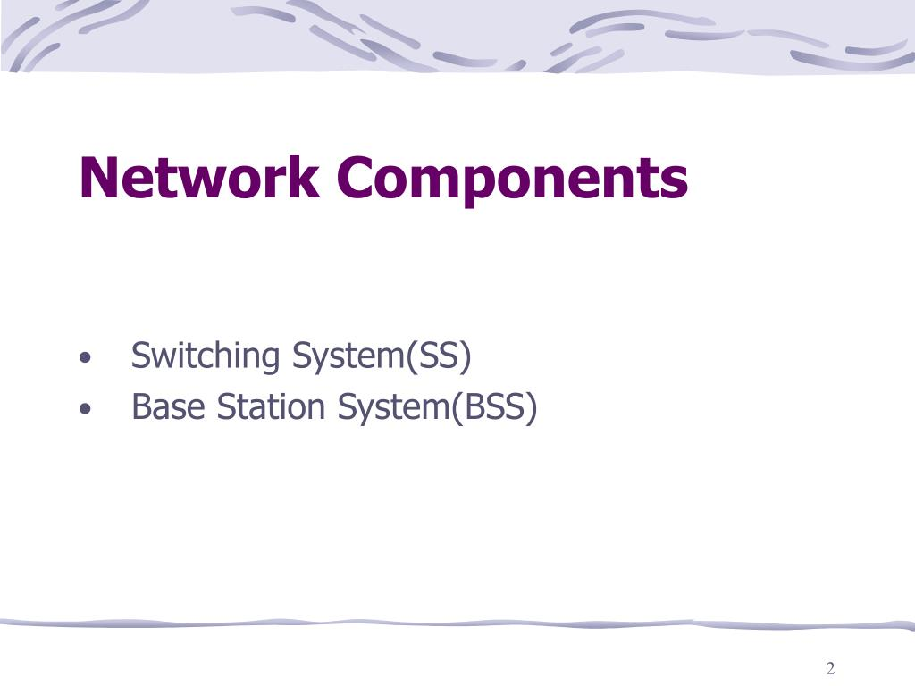 Network Components