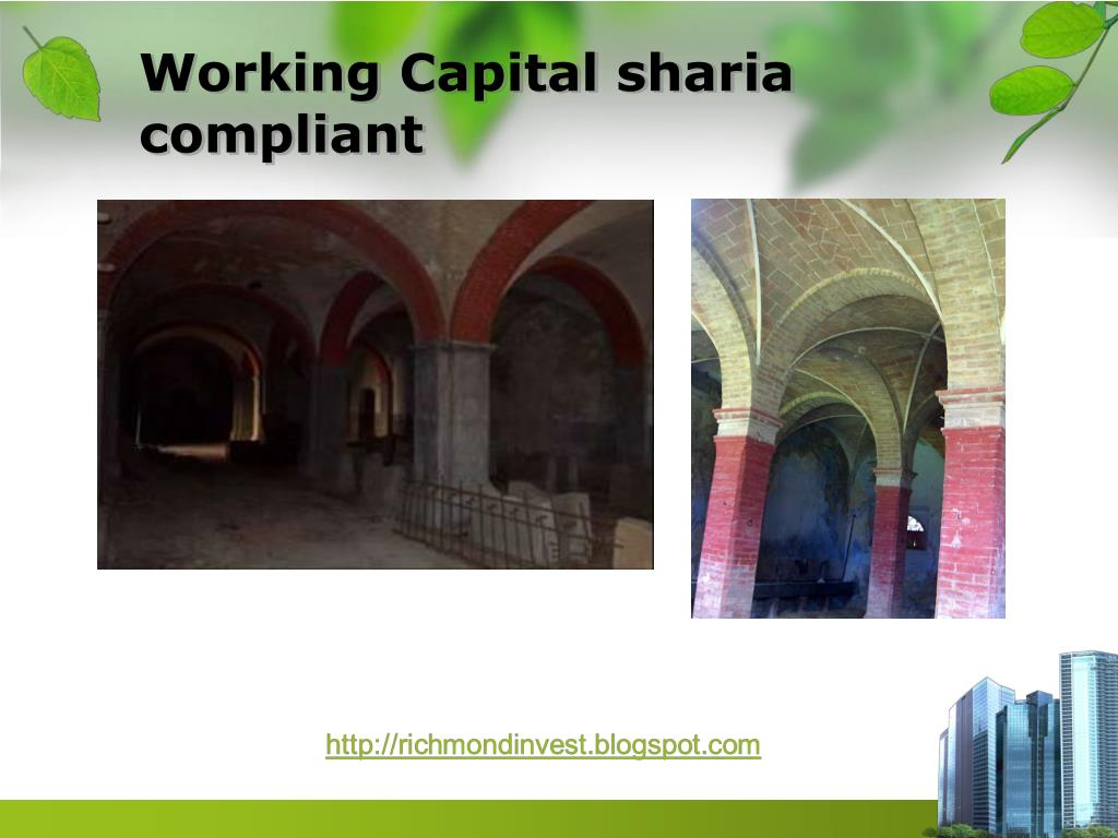 Working Capital sharia compliant