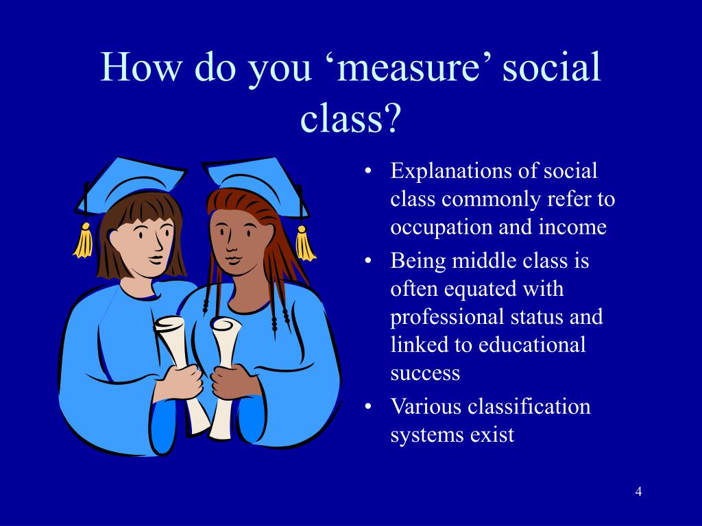 a sociological explanation of the link between occupation and social class Social class in the united states is a establishing a close link between perceived social stratification: class, race, and gender in sociological.