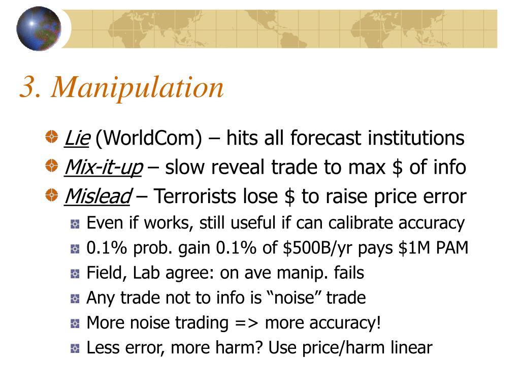3. Manipulation