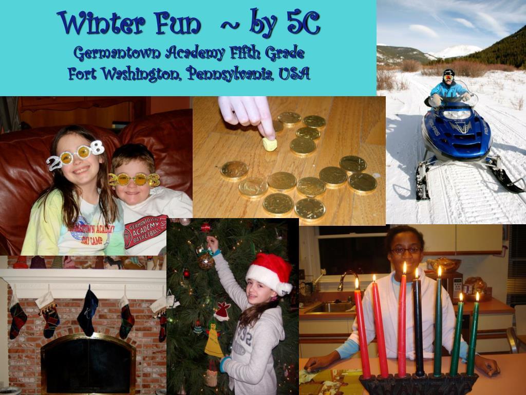 Winter Fun  ~ by 5C