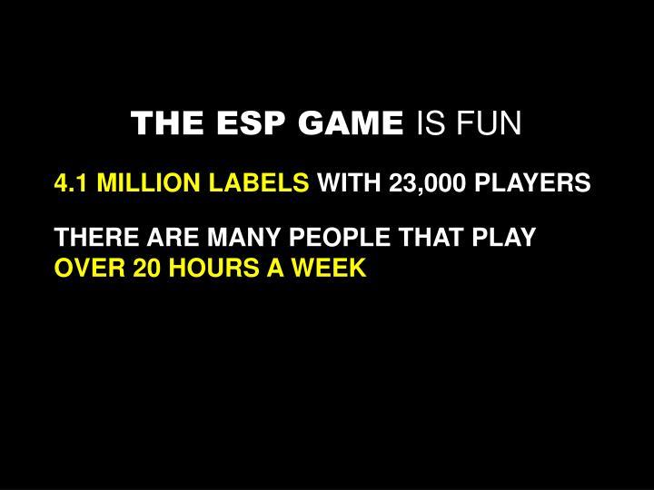 THE ESP GAME