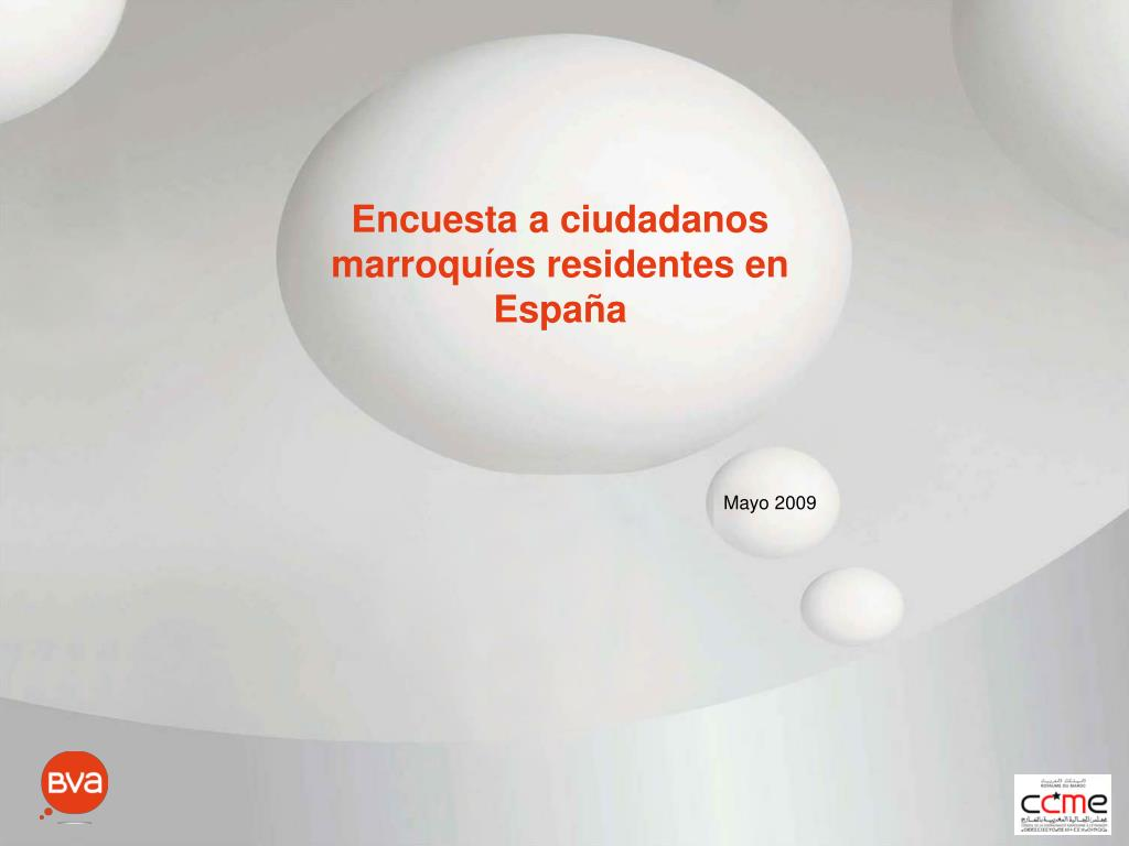 Encuesta a ciudadanos marroquíes residentes en