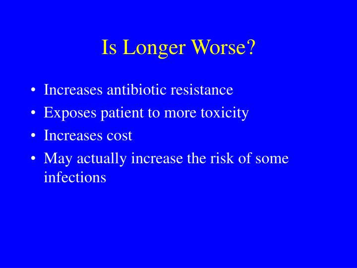 Is Longer Worse?