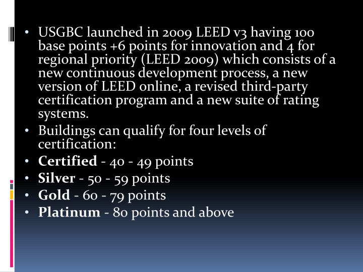 Ppt Leed Leadership In Energy And Environmental Design