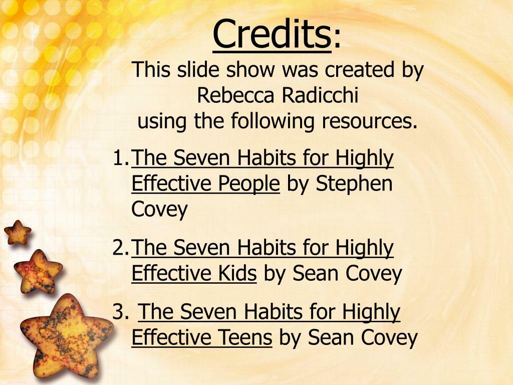 Habit 1 Be Proactive Based On The Work Of Stephen: Habit #3 Put First Things First Based On The Work Of