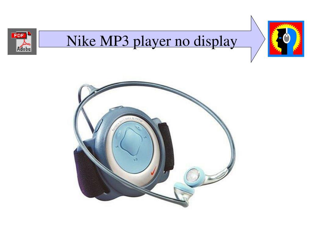 Nike MP3 player no display